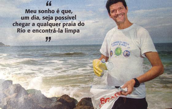 Hildon Carrapito na Vejinha (Veja Rio), na coluna